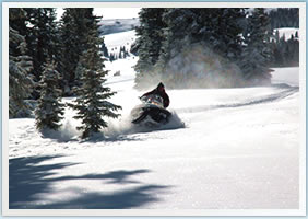 High Adventure Vail & Beaver Creek Snowmobiling