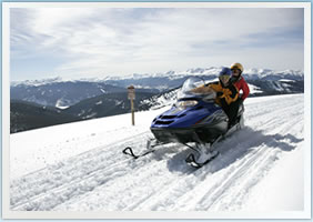 Vail Snowmobiling Tours